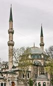 picture of constantinople  - Eyup Sultan Mosque built in 1458 it was the first mosque constructed by the Ottoman Turks following the Conquest of Constantinople in 1453 - JPG