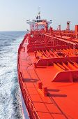 pic of lng  - Tanker crude oil carrier ship designed for transporting natural gas sailing - JPG