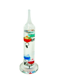 picture of galileo-thermometer  - Galileo Thermometer which uses the movement of precisely measured balls to determine the temperature - JPG