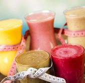 stock photo of fruit shake  - Healthy diet - JPG