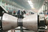 Rolling Forming Roll Metal Works On Manufacture Of Pipes
