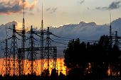 picture of substation  - Electric substations play greater role in life mankind - JPG