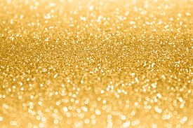 stock photo of glitter sparkle  - An abstract gold sparkle and glitter background - JPG