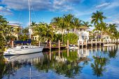picture of yachts  - Luxurious yacht and waterfront homes in Fort Lauderdale - JPG