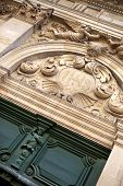 picture of bordeaux  - Facade of a church in Bordeaux France - JPG