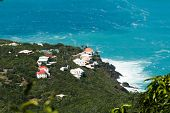 foto of paysage  - seascape under the sunlight shows all the beauty of what attracts tourists - JPG