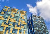 stock photo of colorful building  - Modern colorful - JPG