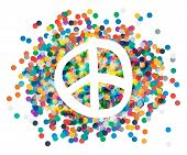 image of peace  - Peace sign - JPG
