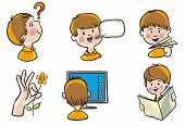 stock photo of child development  - Vector illustration - JPG