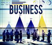 stock photo of enterprise  - Business Growth Opportunity Enterprise Firm Concept - JPG