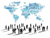 pic of nature conservation  - Natural Resources Environmental Conservation Sustainability Concept - JPG