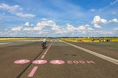 Постер, плакат: Berlin Tempelhof Airport Former Airport Of Berlin Germany