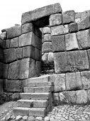 Постер, плакат: Каменные инков на Sacsayhuaman Куско Перу