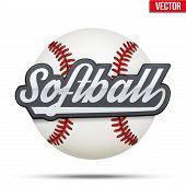 softball poster