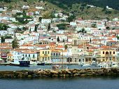 picture of hydra  - The Saronic island of Hydra in central Greece - JPG