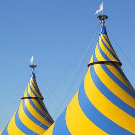 image of circus tent  - Circus Tent - JPG