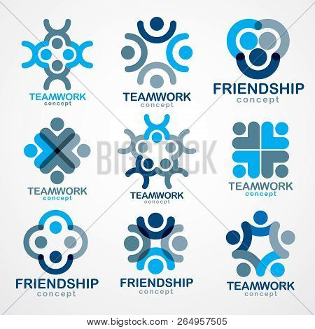 Teamwork Businessman Unity And Cooperation