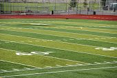 image of ncaa  - A new astro turf foot ball field - JPG