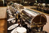 Hotel Restaurant Food Catering Service Buffet Banquet For Wedding Ceremonies, Seminar, Meeting, Conf poster
