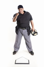 image of umpire  - Out  - JPG