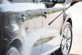 Car And Pressure Washer