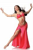 Beautiful Belly Dancer Woman