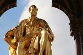 picture of kensington  - Prince Albert statue - JPG