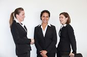 Three Multiethnic Young Businesswomen