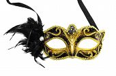pic of venice carnival  - Carnival mask isolated on a white background - JPG