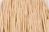 Toothpicks abstract composition. Vertically.