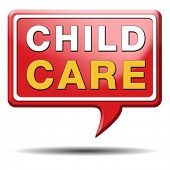 child care in daycare or cr�?�?�?�¨che by nanny or au pair parenting or babysitting protection