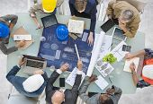 picture of real-estate-team  - Group of Architects Planning - JPG