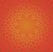 picture of east-indian  - Persian pattern in red color - JPG