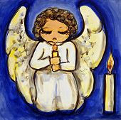 Angel Candlelight Prayer