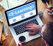 stock photo of online education  - E - JPG