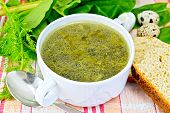 foto of sorrel  - Soup of green nettles - JPG
