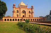picture of mughal  - Tomb of Safdarjung in New Delhi India - JPG