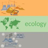 pic of polluted  - Ecology and pollution - JPG