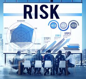 stock photo of change management  - Risk Danger Management Security Hazard Concept - JPG