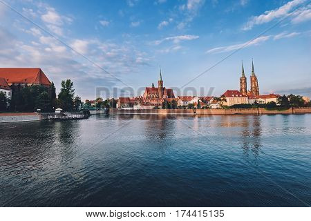 Wroclaw Cathedral island