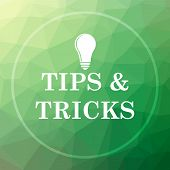 Tips And Tricks Icon poster