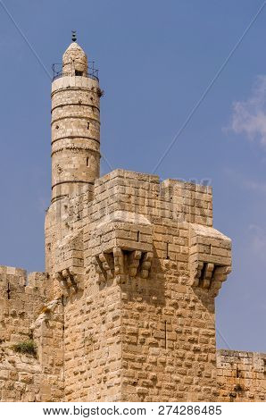 Tower Of David And Old