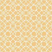 Wicker Texture. Vector Seamless Pattern With Thin Curved Lines. Simple White And Yellow Plaited Text poster