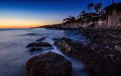 picture of pch  - After sunset at Victoria Beach in Laguna Beach City - JPG