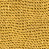 stock photo of gila monster  - nature reptile skin texture Gila monster screen ocher - JPG