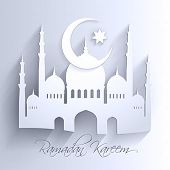 picture of hari raya  - ramadan backgrounds vector - JPG
