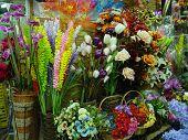 foto of flower shop  - flower shop  - JPG