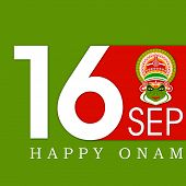 picture of onam festival  - South Indian festival Onam wishes background - JPG