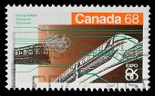 CANADA - CIRCA 1986: A stamp printed in Canada from the