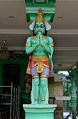 image of hanuman  - Statue of Hanuman in Batu caves complex Gombak district Malaysia - JPG